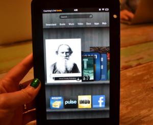 Amazon Kindle Fire HD Gadget