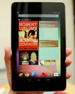 Google Nexus 7 Tablet Gadget