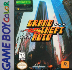 Grand theft auto - gameboy advance