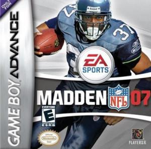 Madden NFL 07 - gameboy