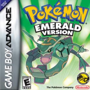 Pokemon emerald - gameboy advance