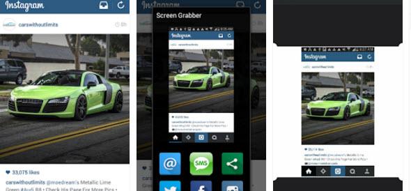 Screen Grabber app