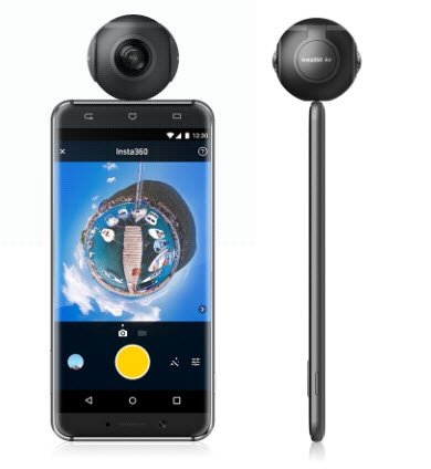 Insta360 Air Compact Mini Panoramic 360 Degree Camera