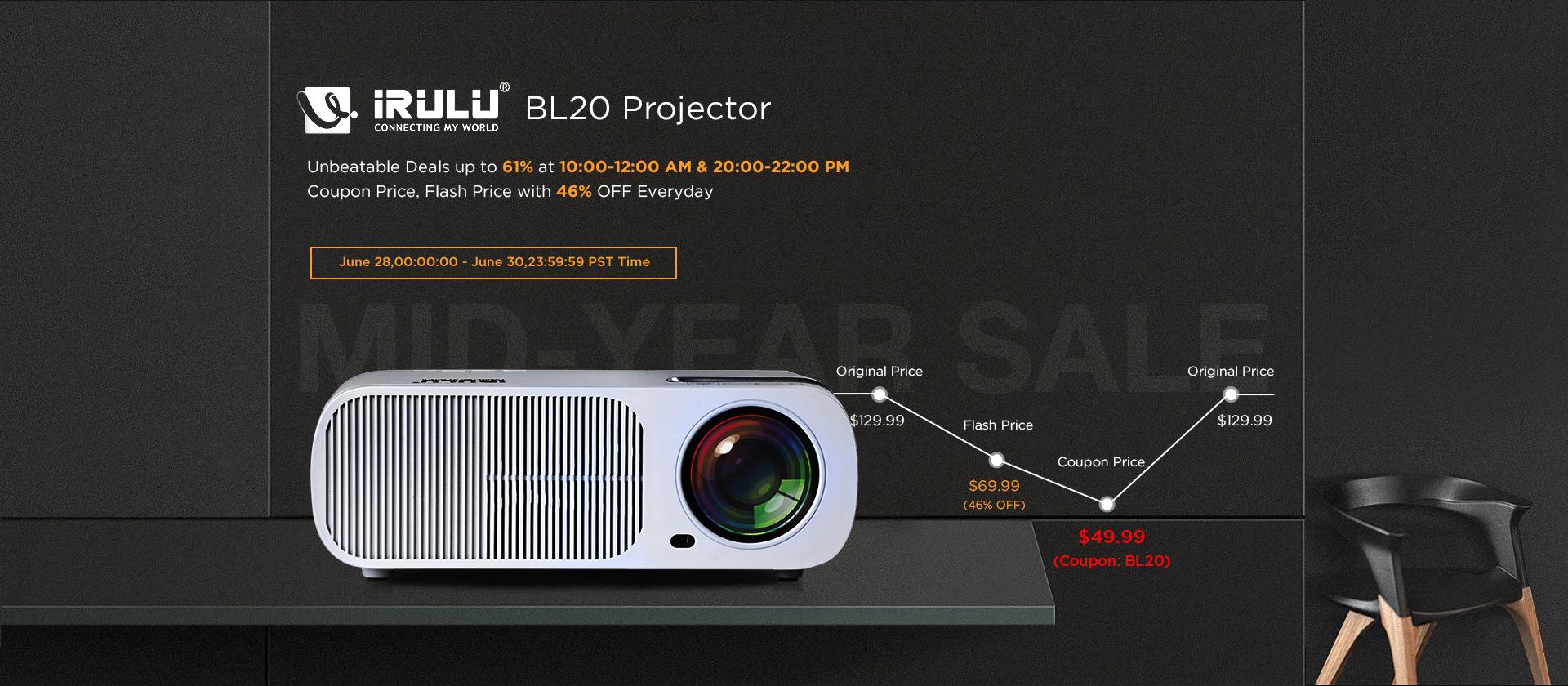 irulu projector