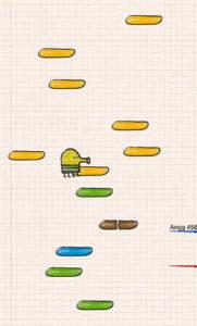 doodle jump gameplay