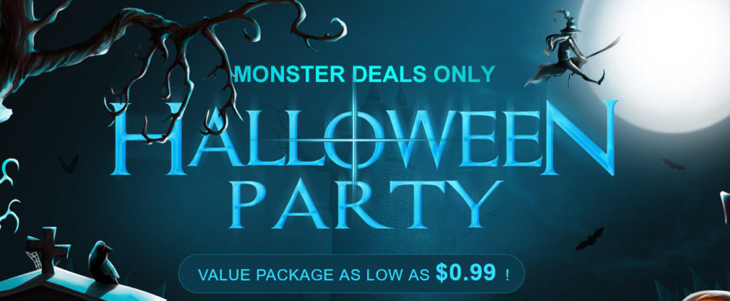 Gearbest Halloween Party Offers