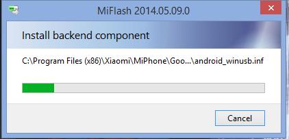 mi flash installer