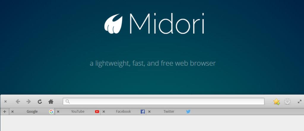 Midori Linux Browser