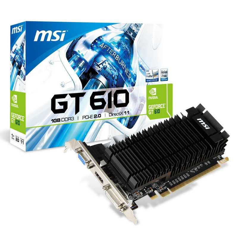 MSI Nvidia GeForce GT 610