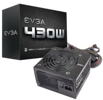 EVGA 430 W 80+ ATX PSU
