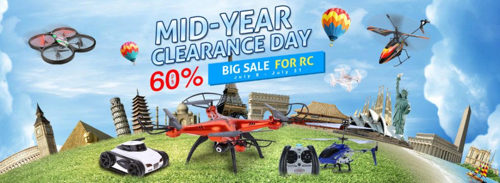 RC Drones Sale