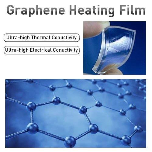 Graphene heating film